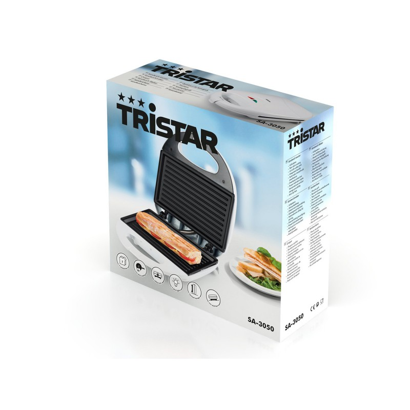 Sandwich maker panini tristar for Appareil convivial