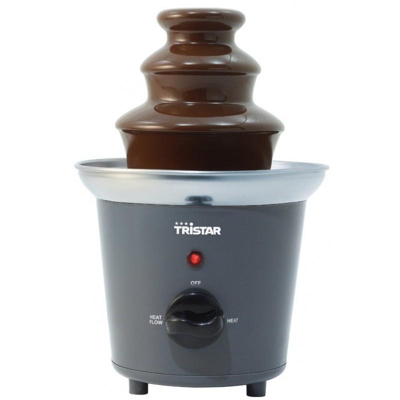 Fontaine à chocolat Tour inox - 2 positions de chauffe
