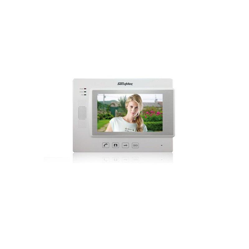 """Ecan 7"""" HD Couleur Secumax SECU-2700W"""