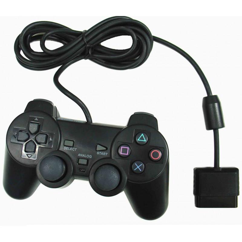Manette de Jeu Pour Playstation 2 / Double Vibration