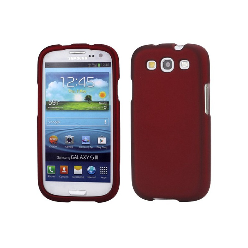 Etui en Silicone Pour Samsung Galaxy  S3 / Rouge