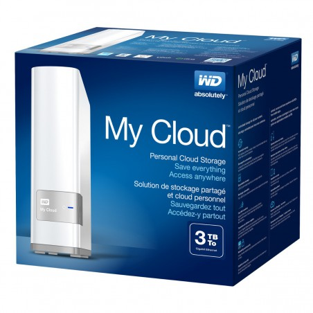 Disque Dur Externe Western Digital My Cloud 2 To