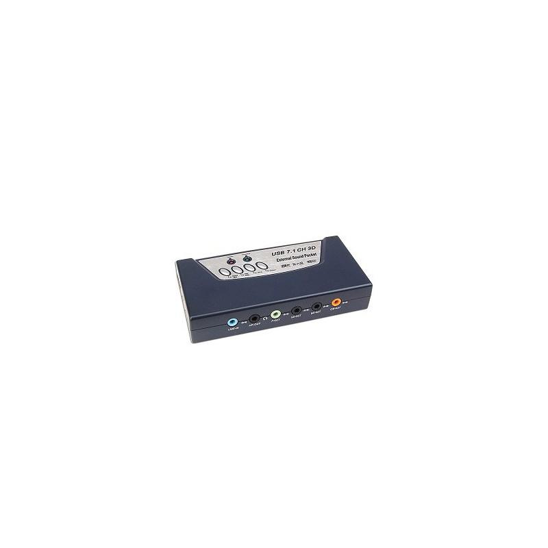 Carte Son Externe USB 2.0 7.1