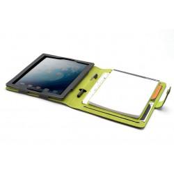 Booqpad Pour iPad 2/3/4 / Gris & Vert