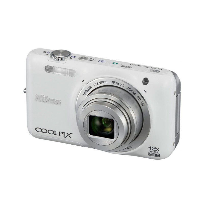 Appareil Photo Nikon Coolpix S6600 16 MP / Blanc