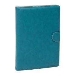 """Etui en cuir pour tablette 8"""" Bleu"""