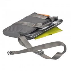 "Sacoche pour PC Portable Rivacase 15.6"" Gris"
