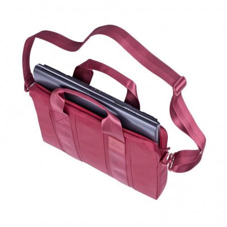 """Sacoche pour PC Portable Rivacase 15.6"""" Rouge"""