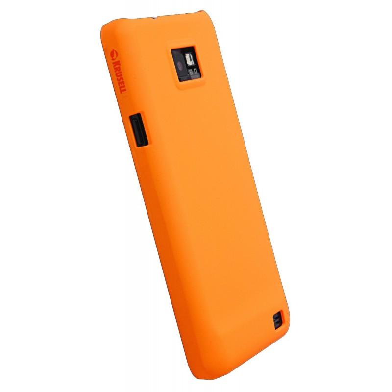 Coque pour Samsung Galaxy S2 / Orangé