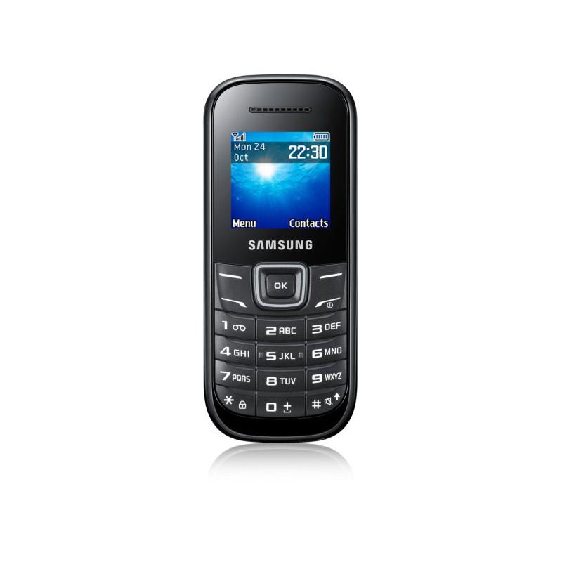 Téléphone Portable Samsung E1200R / Noir + SIM Offerte