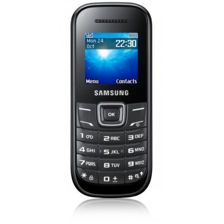 Téléphone Portable Samsung E1200R / Noir