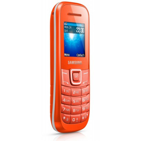Téléphone Portable Samsung E1200R / Orangé