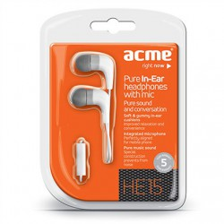 Ecouteurs intra-auriculaires avec micro ACME HE15W