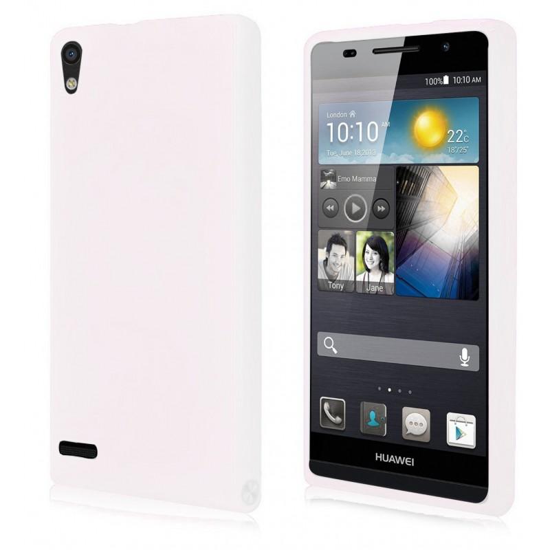 Etui en Silicone Pour Huawei Ascend P6