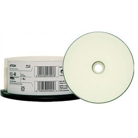 Bobine DVD Imprimable Blueray 10x BD-R