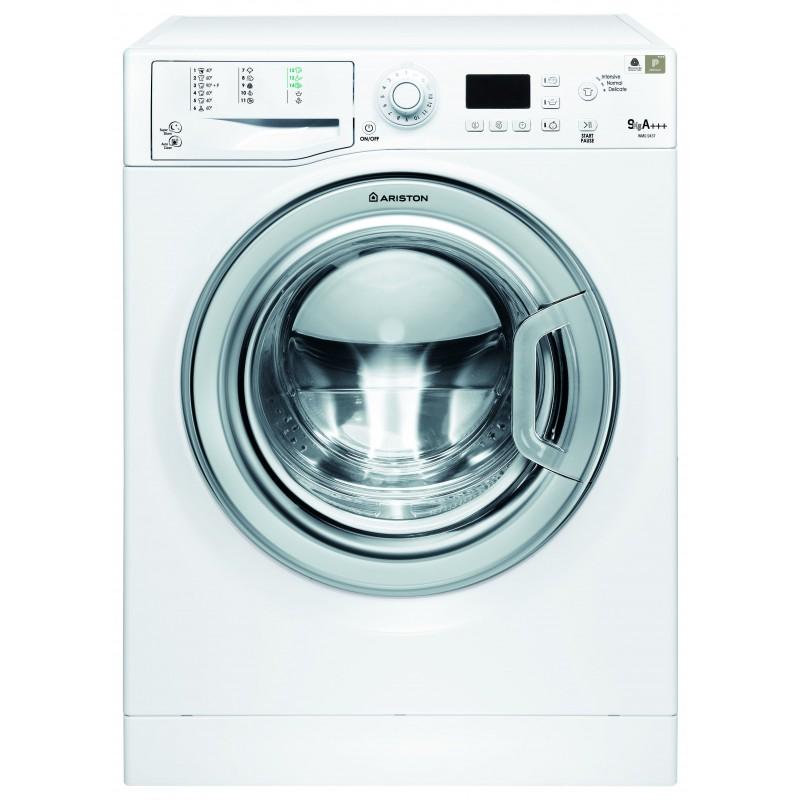 Machine à laver ARISTON Futura 9 KG avec porte Silver à vapeur