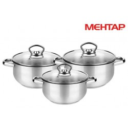 Set de 3 Casseroles Mehtap