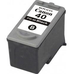 Cartouche adaptable Canon PG-40 XL Noir