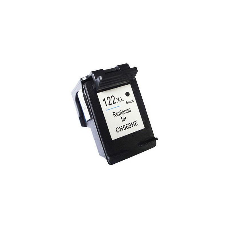 Cartouche adaptable HP 122XL Noir