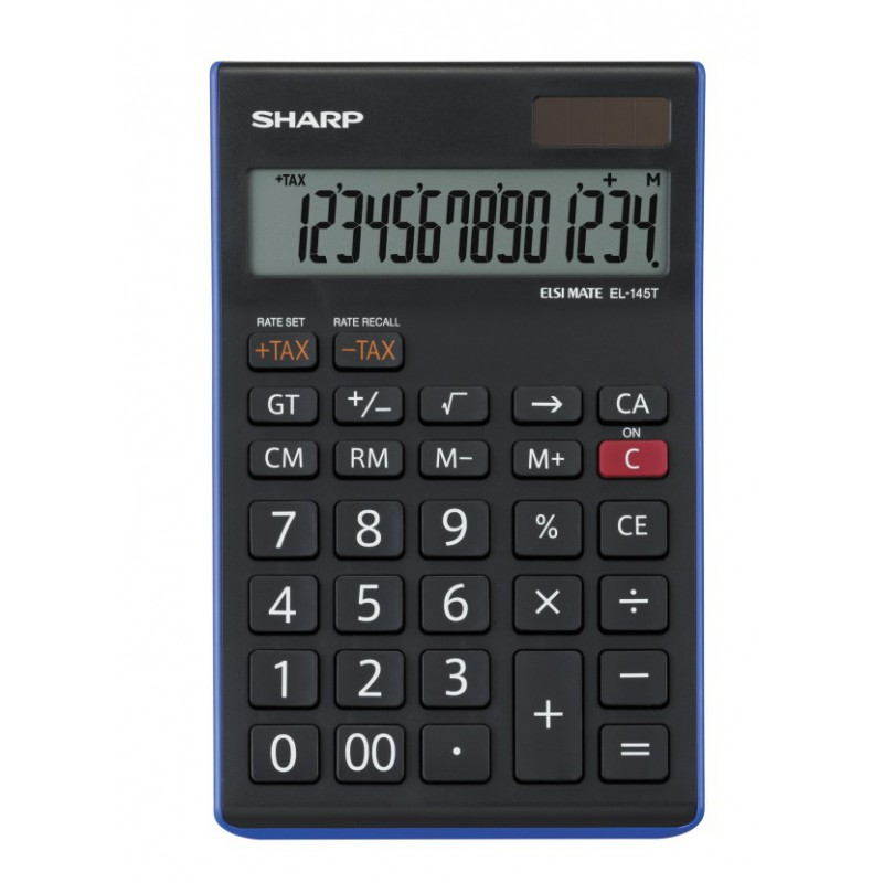 Calculatrice Sharp EL-145T-BL