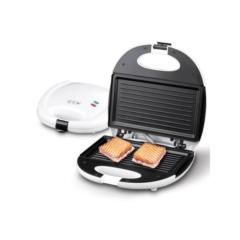 Sandwich maker panini sinbo ssm 2520g for Appareil cuisson convivial