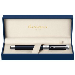 Stylo Waterman Perspective Noir / Chromé Plume