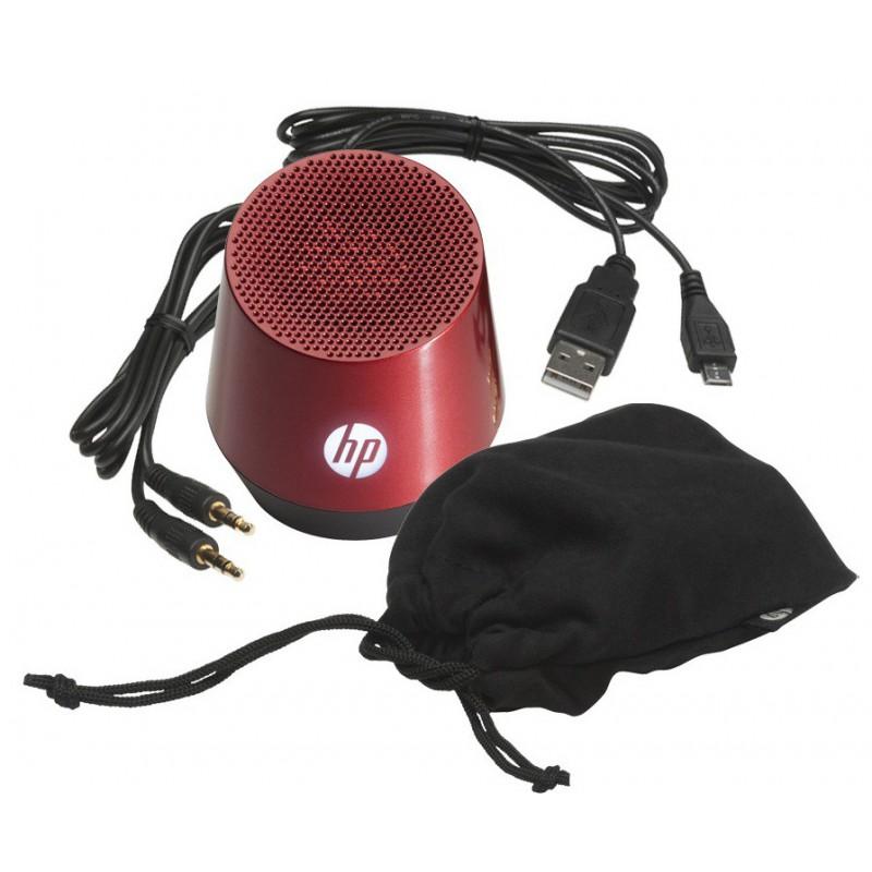 Haut-parleur portable HP Mini S4000 / Rouge