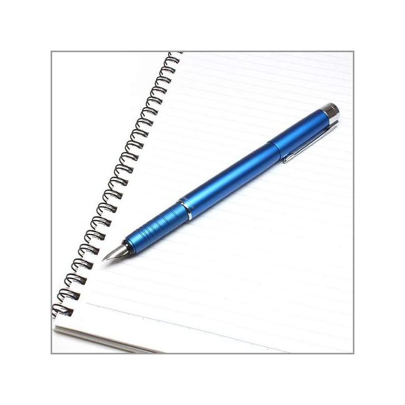 stylo parker plume esprit bleu. Black Bedroom Furniture Sets. Home Design Ideas