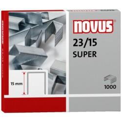 Agrafes Novus 23/15 SUPER