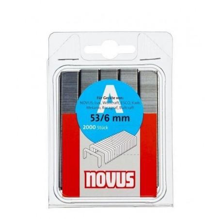 Agrafes Novus 53/6