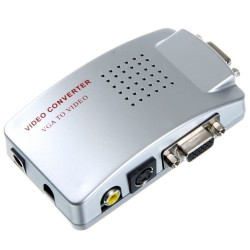 Adaptateur Pc Vers TV (VGA to Video)
