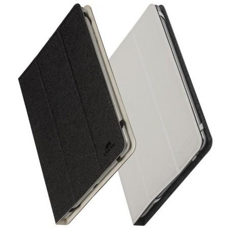 """Etui double-face pour tablette 7""""-8"""" Noir/Blanc"""