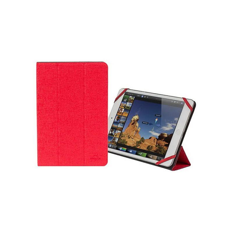 """Etui double-face pour tablette 7""""-8"""" Rouge/Noir"""