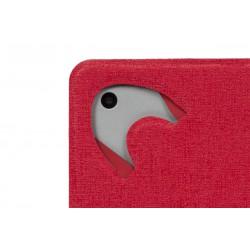 """Etui double-face pour tablette 10.1"""" Blanc/Rouge"""