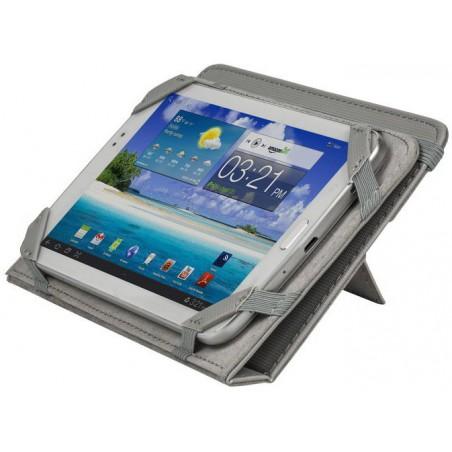 """Etui pliant avec support béquille pour tablette 7"""" / Gris"""