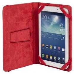 """Etui pliant avec support béquille pour tablette 7"""" / Rouge"""