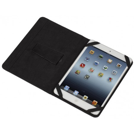 """Etui pliant avec support béquille pour tablette 8"""" / Noir"""
