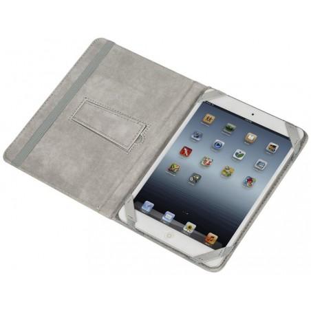 """Etui pliant avec support béquille pour tablette 8"""" / Gris"""