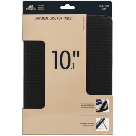 """Etui pliant avec support béquille pour tablette 10.1"""" / Noir"""