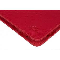 """Etui pliant avec support béquille pour tablette 10.1"""" / Rouge"""