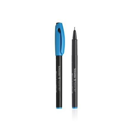 Feutre pointe fine Schneider Topliner 967 / Turquoise