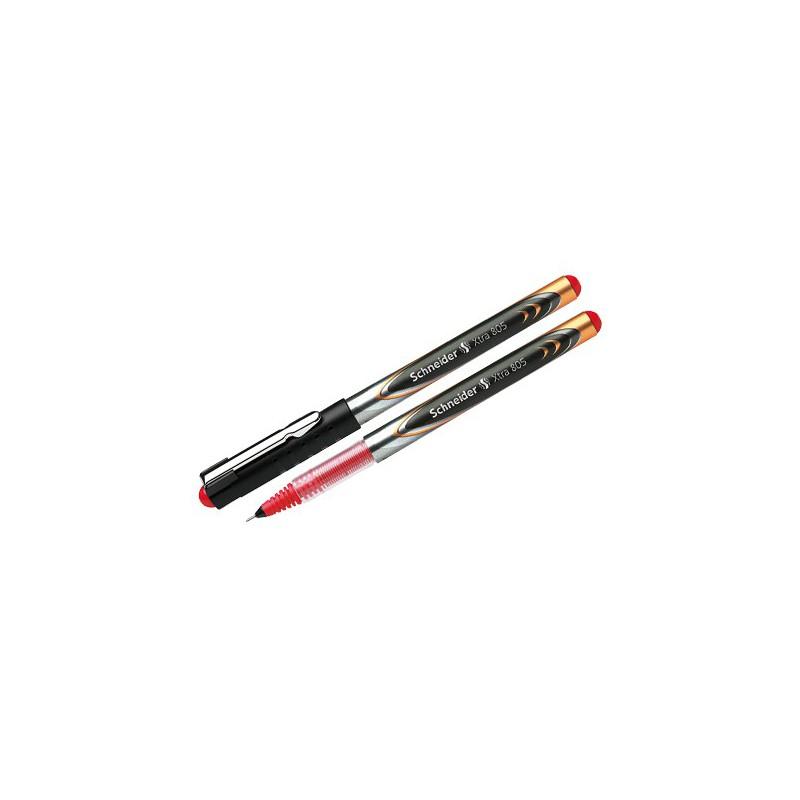 Stylo Roller à encre liquide Schneider Xtra 805 / 0.5 mm / Rouge