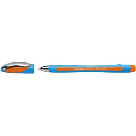 Stylo à bille Schneider Slider Memo XB / 1.4 mm / Orangé