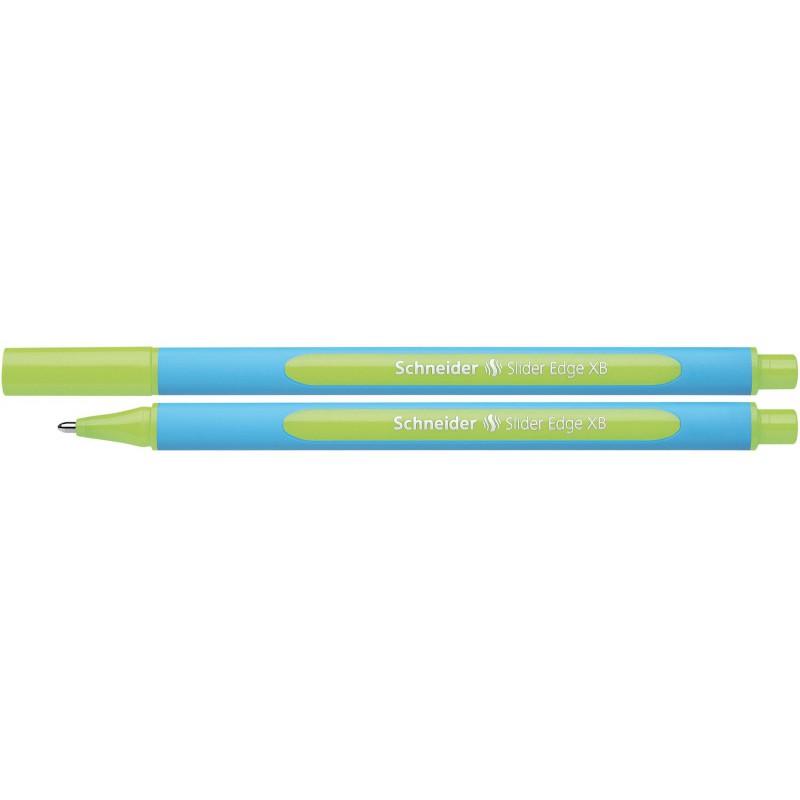 Stylo à bille Schneider Slider Edge XB / 1.4 mm / Vert clair