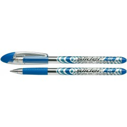 Stylo à bille Schneider Slider Basic M 1.0 mm / Bleu