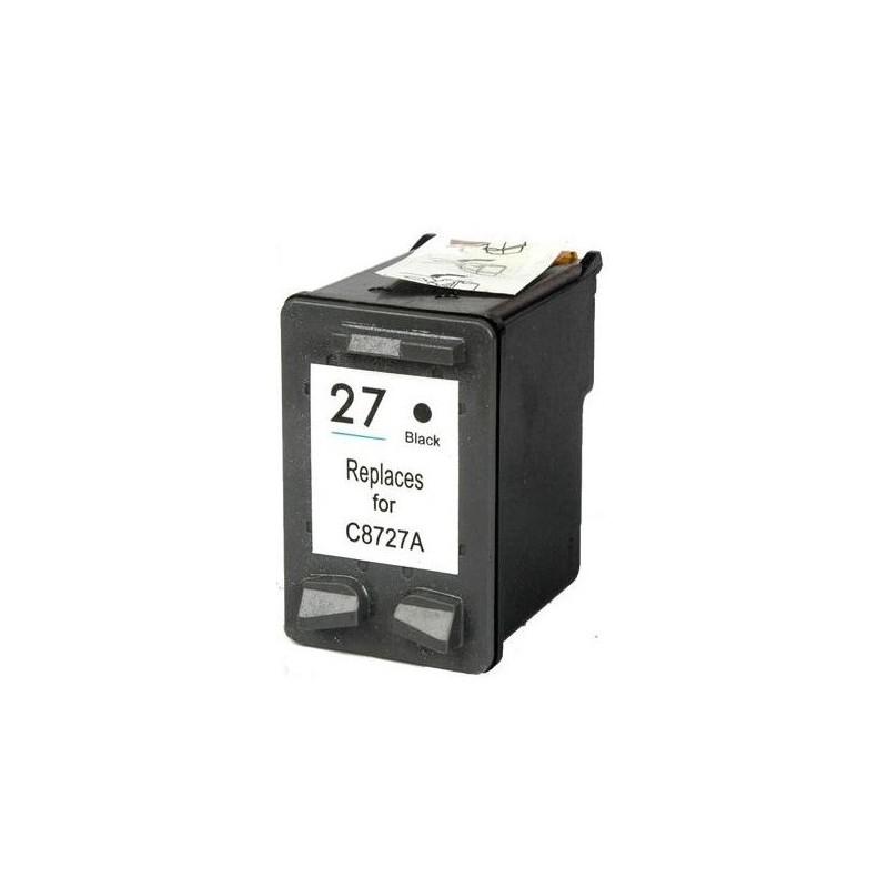 Cartouche adaptable HP 27 Noir