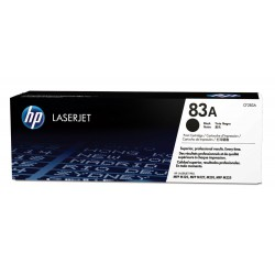 Toner HP 83A LaserJet noir authentique