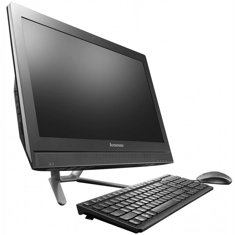 pc de bureau lenovo all in one c360 tactile noir. Black Bedroom Furniture Sets. Home Design Ideas