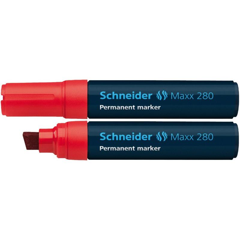 Marqueur Permanent Schneider Maxx 280 / Rouge