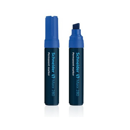 Marqueur Permanent Schneider Maxx 280 / Bleu